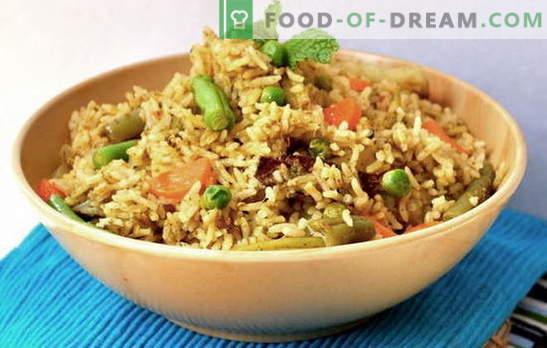 Caleidoscópio de vegetais pilaf: um prato na intersecção das culturas. Receitas pilaf com legumes - sempre verdade!
