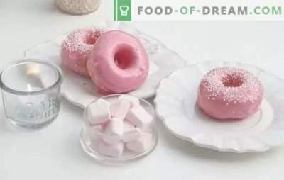 Glaze para donuts - o acabamento perfeito! Receitas de diferentes coberturas de chocolate para donuts feitos de cacau, chocolate, açúcar em pó, proteínas