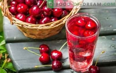 Saldžių vyšnių kompotas yra nuostabus ruošinys! Įvairių saldžių vyšnių kompotų receptai su akmenimis ir be jų, žiemą ir vasarą