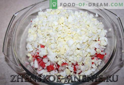 Crab Salad - Przepis ze zdjęciami i opisem krok po kroku