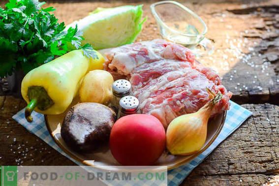 Cozinhamos a mais deliciosa borsch ucraniana de acordo com a receita clássica