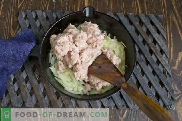 Molho grelhado de carne picada para massas