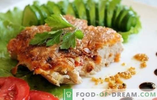 Costeletas de frango na panela - como fazê-las suculentas? Costeletas de frango em uma panela em uma panela, massa e outras opções