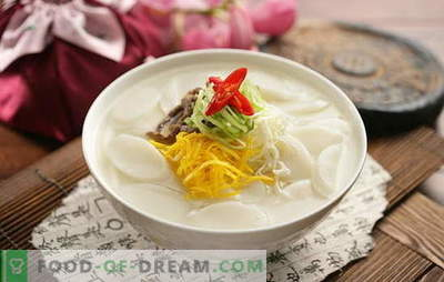 Korean soup - fragrant, hot and mighty! Korean soups recipes: with daikon, seafood, noodles, cabbage, tofu
