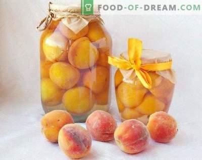 Konservuoti persikai sirupe