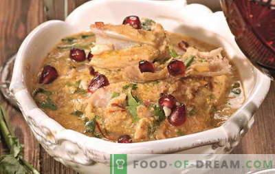 Chicken satsivi - as melhores receitas. Como corretamente e saboroso cozinhar satsivi de frango.