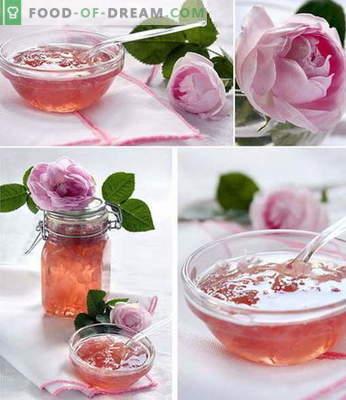 Rose jam: como fazer geléia de rosa corretamente