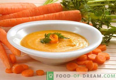 Karottenpüree - die besten Rezepte. Wie man richtig und lecker gekochtes Karottenpüree macht.