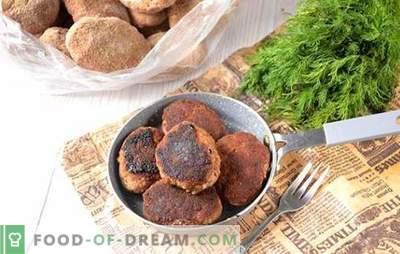 Como congelar rissóis de carne com frango: preparações úteis para uso futuro. Receita fotográfica passo-a-passo de almôndegas-produtos semi-acabados: do picadinho ao congelador