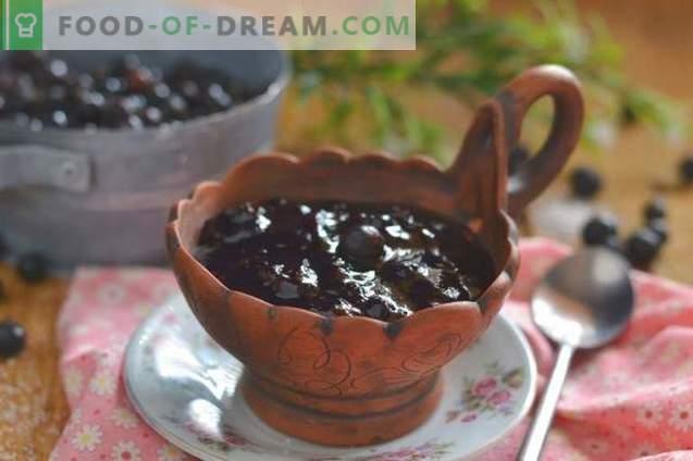 Black currant jam - simple, tasty, useful!