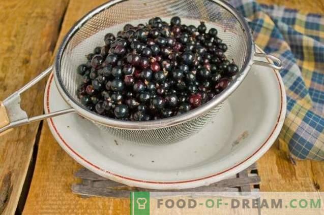 Geléia de groselha preta - simples, saborosa, útil!