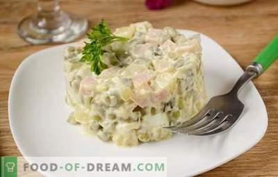 Olivier: a salada mais popular na mesa de férias! Salada clássica Olivier: uma receita de fotos passo-a-passo com os segredos do autor para melhorar o sabor do prato