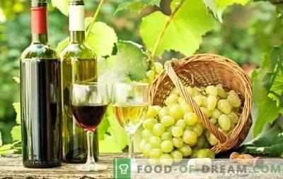 O vinho das uvas em casa é útil! Segredos de fazer vinho a partir de uvas em casa