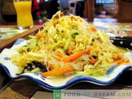 Salada de Pequim - as melhores receitas. Como corretamente e cozinhar a salada de Pequim.