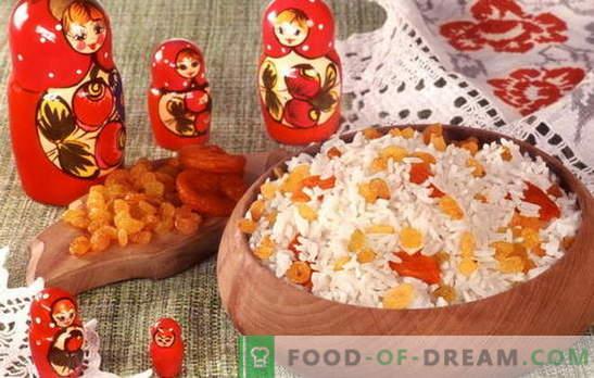 Mingau com passas - seu café da manhã! As melhores receitas de mingau com passas: arroz, milho, farinha de aveia, trigo mourisco, milho
