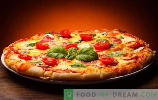 Pizza com queijo e tomate é diferente e muito saborosa! Receitas rápidas e originais de pizza com queijo e tomate