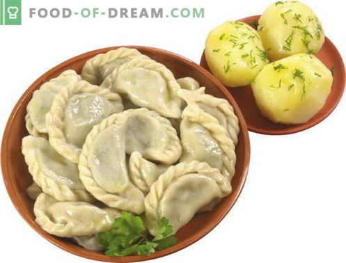 Bolinhos com batatas - as melhores receitas. Como corretamente e saboroso bolinhos de massa com batatas.
