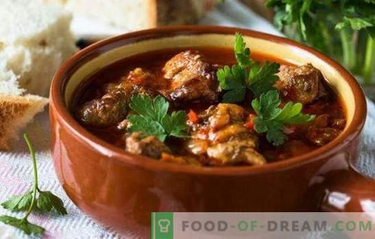 Turquia no pote: as sutilezas da culinária. Como cozinhar um peru em uma panela no forno, um peru com batatas no forno