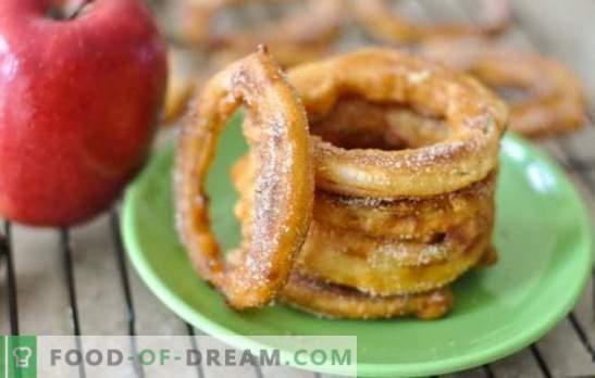 Ябълки в тесто - безупречно вкусен десерт. Най-добрите рецепти за ябълки в тесто от различни видове тесто: деликатес с ползи!