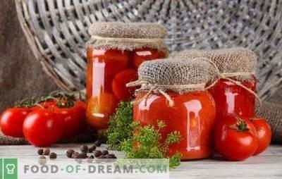 Tomate marinado para o inverno - o gosto e o cheiro do verão. Dicas importantes e receitas originais: como conservar tomates para o inverno