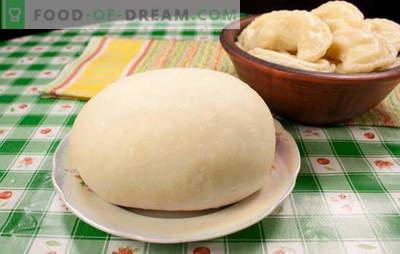 Massa Choux para bolinhos - será perfeito! Receitas de creme de massa para bolinhos: na água, leite, creme de leite, multicolorida