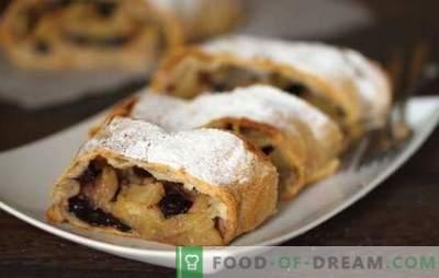 Pastéis Quaresmais para o chá - mantemos o jejum com sabor. Receitas interessantes para bolos de quentilha: bolos doces, biscoitos crocantes, rolo de semente de papoula