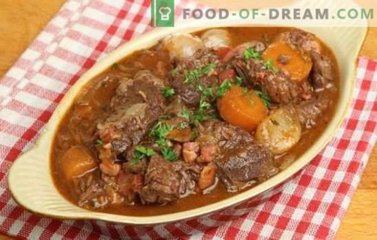 Guisado de carne de porco com batatas - tradições aromáticas. Como preparar um ensopado de carne de porco saudável e saboroso com batatas