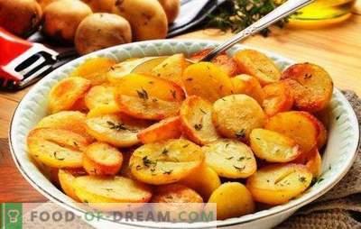 Batatas fritas em um fogão lento: crocante, perfumado. As melhores receitas de batatas fritas em um fogão lento com cebola, cogumelos, alho