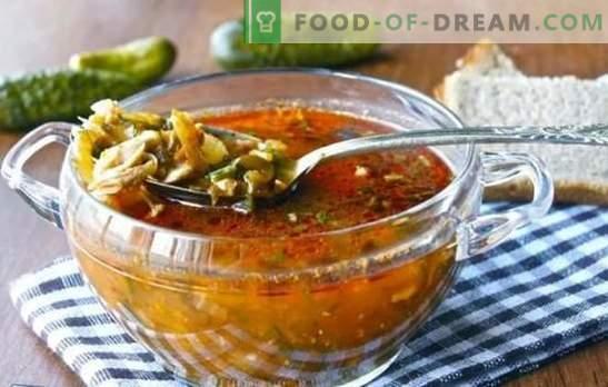 Pickle sem cevada - novas versões do prato familiar. Receitas de picles sem cevada com outros cereais e vegetais