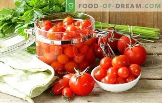Para preparar tomates para o inverno sem cozinhar - é difícil? As melhores receitas de deliciosos tomates para o inverno sem cozinhar