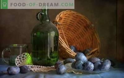 Derramando ameixas em casa: simples! Tecnologia de fabricação de licores de ameixa em casa