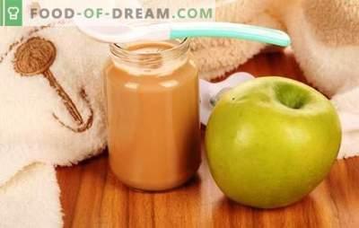 Purê de maçã para crianças: como corretamente e saboroso cozinhá-lo. Receitas de purê de maçã para bebês