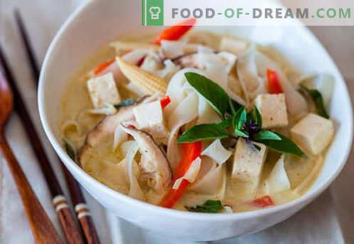 Sopa em caldo de carne - as melhores receitas. Como corretamente e saboroso cozinhar sopa em caldo de carne.