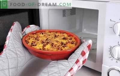 Receita de pizza no microondas - os italianos ficarão chocados com este prato! Receitas de pizza no microondas com diferentes recheios
