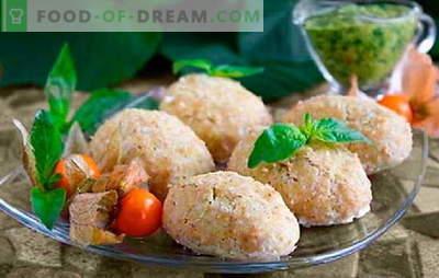 Costeletas de vapor de frango - alimentos dietéticos podem ser deliciosos! Como cozinhar costeletas de vapor de frango em um fogão lento