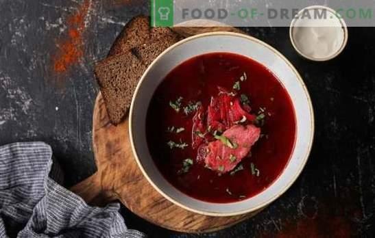 Erros comuns ao cozinhar borscht