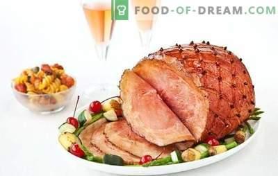 A carne de porco defumada é uma iguaria muito popular. Métodos de cozimento de carne de porco defumada e as melhores receitas com sua participação
