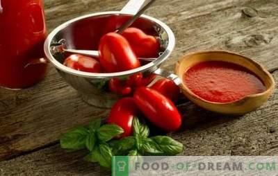 Caviar de tomates para o inverno: com pimenta, maçã, berinjela e abobrinha. Descubra as melhores receitas de caviar de tomate para o inverno