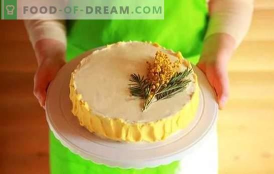 Creme para Bolo: Receitas passo-a-passo para sobremesas caseiras. Cozinhar cremes doces e ar para bolos com receitas passo-a-passo
