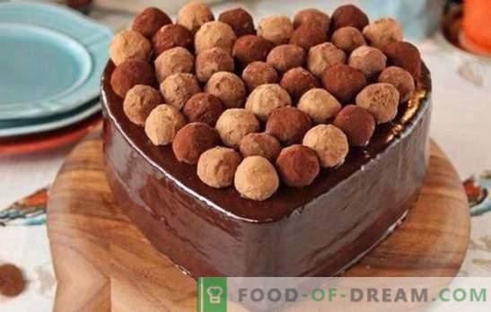 Bolo de trufa é uma obra-prima! Receitas para deliciosos bolos de trufa com merengue, frutas, vários cremes
