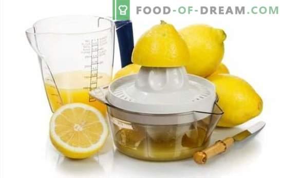 Fazendo suco de limão - receitas com sabor divino! Sumo de limão: receitas de bebidas alcoólicas e não alcoólicas com