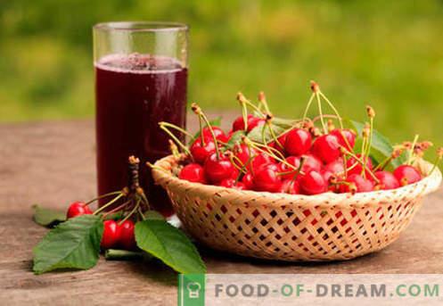 Compota de cereja - as melhores receitas. Como apropriadamente e saborosa compota de cerejas.