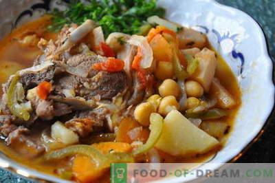 Bozbash - as melhores receitas. Como corretamente e saboroso cozinhar Bozbash.