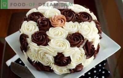 Creme de Decoração para Bolo: As Melhores e Originais Receitas. Como fazer cada tipo de creme de decoração do bolo: instruções passo a passo