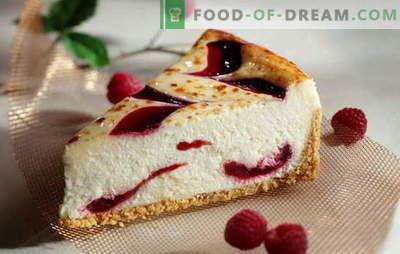 O que faz um cheesecake caseiro: mascarpone, filadélfia ou ricota? Novas receitas para cheesecake suculento em casa