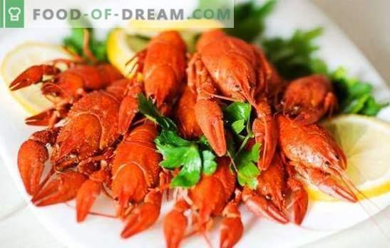 Como cozinhar lagostins corretamente, o que eles geralmente são cozidos? Quanto cozinhar lagostim: receitas tradicionais e de autor de lagostas cozidas