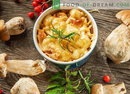 Julienne de frango com cogumelos - as melhores receitas. Como cozinhar frango julienne.