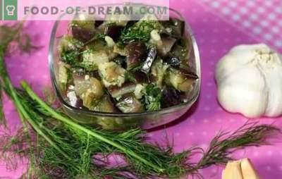 Baklažanai kaip grybai: paprastas ir greitas receptas žiemai. Kaip greitai virti baklažanų žiemą, kad jie skonis kaip grybai?