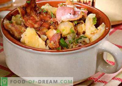 Salada Alemã - uma seleção das melhores receitas. Como corretamente e saboroso cozinhar salada alemã.