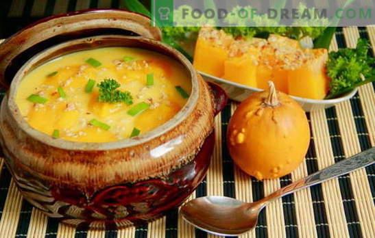 Surpreenda a todos com uma sopa caseira de abóbora: rápida, saborosa! Receitas europeias para sopas de abóbora, rápidas e saborosas, saudáveis e nutritivas